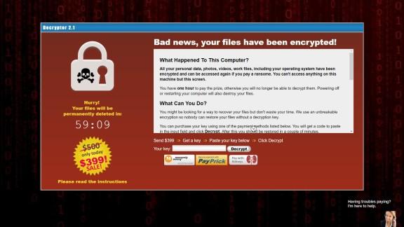 Computer Malware CryptoLocker Virus